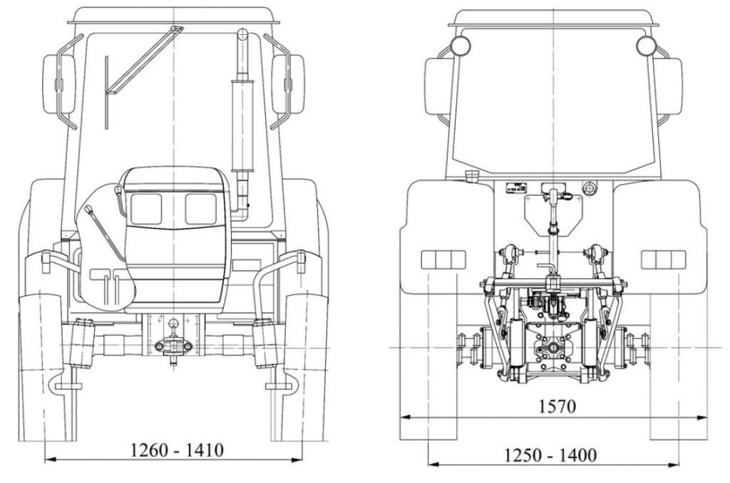 трактора Беларус 422.1