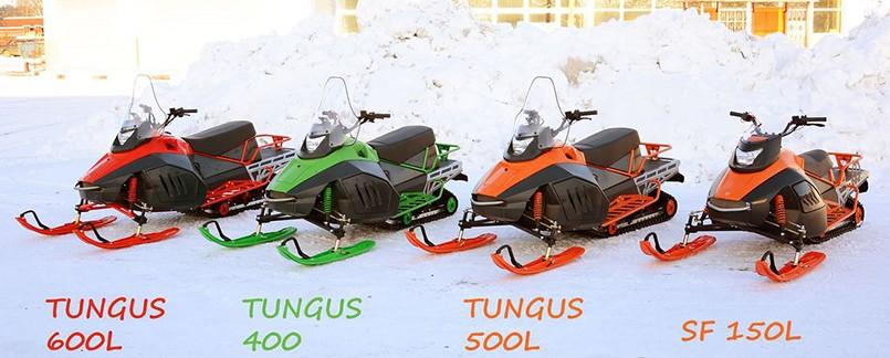 Снегоходы Irbis TUNGUS 400 500 600