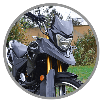 передний фонарь мотоцикла Racer Ranger RC250-GY8A