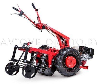 Мини-трактор на базе мотоблока МТЗ с двигателем Honda