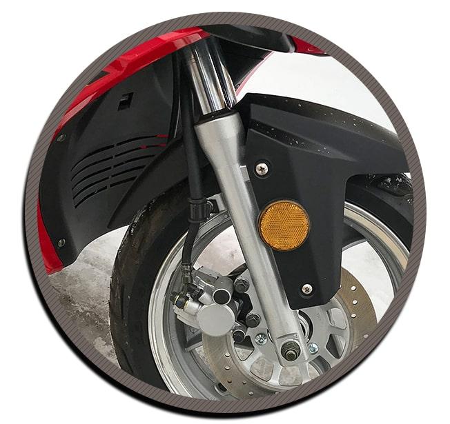вилка скутер lifan lf50qt-26