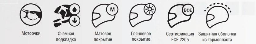 Шлем для мотоцикла Beon B-703