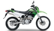 Мотоцикл Kawasaki KLX250 2019 Эргономика