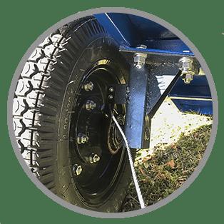 петрошина прицепа для мотоблока Forza-2M