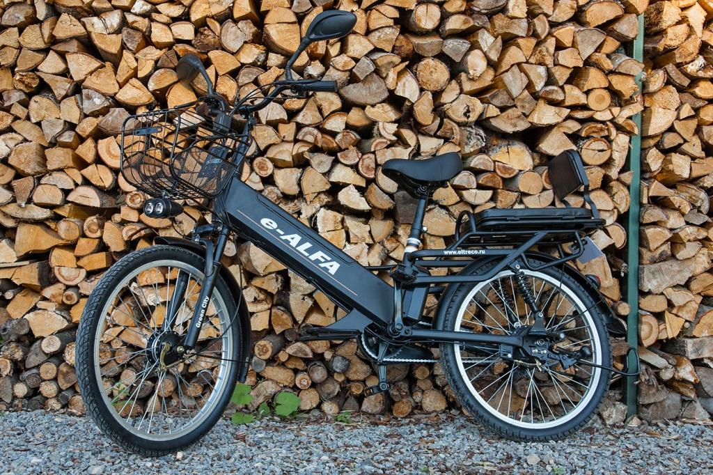 Электровелосипед Eltreco e-ALFA L