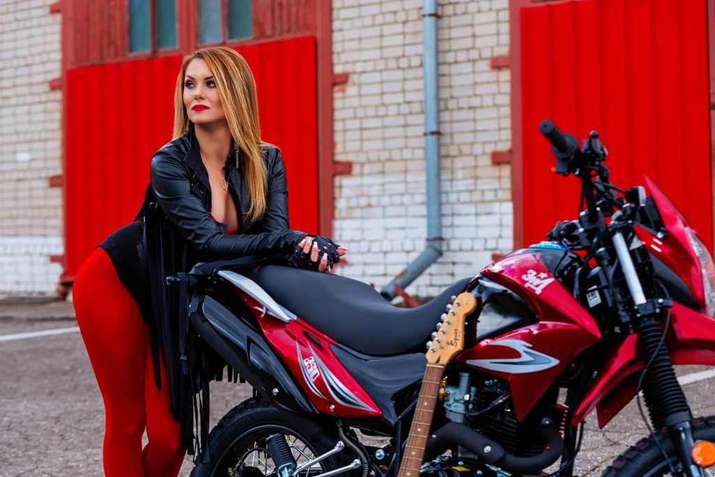 мотоцикл зид эндуро 250 красный