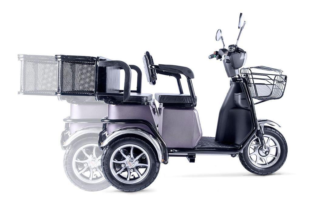 Трицикл Eltreco RuTrike S2 L1 трансформер, электропривод