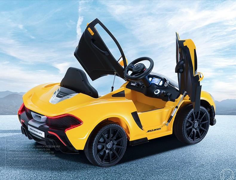 Chi Lok Bo McLaren P1 жёлтый