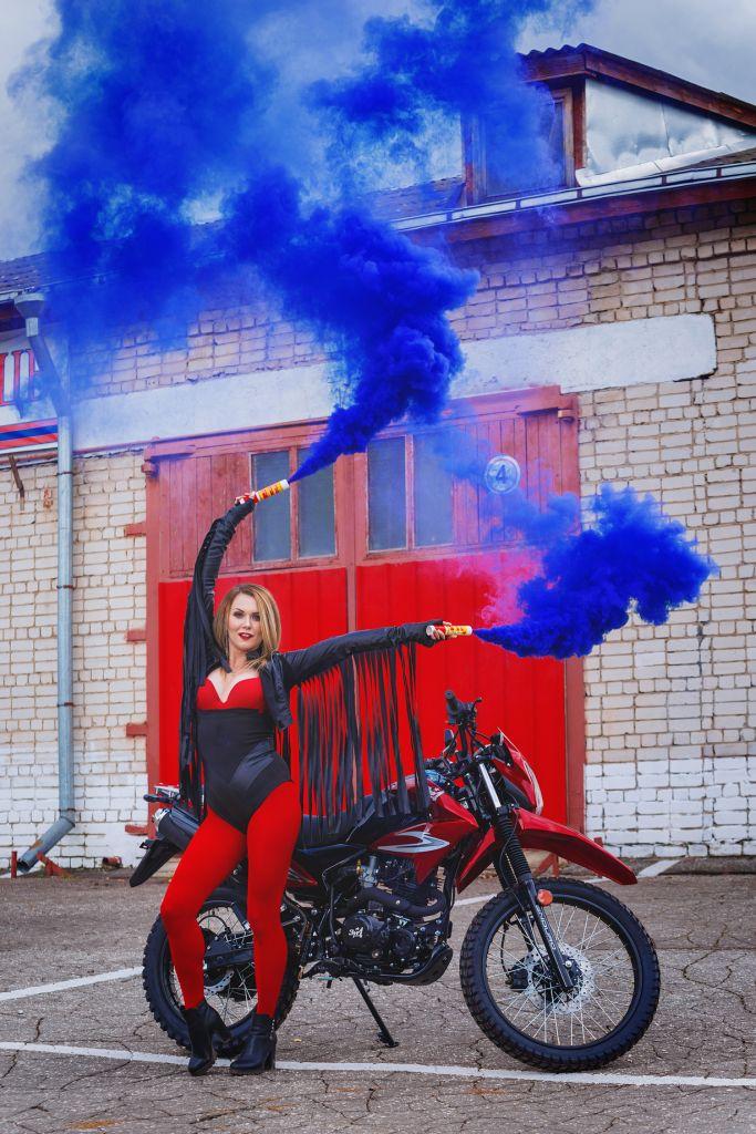 мотоцикл зид эндуро 250 красный хит
