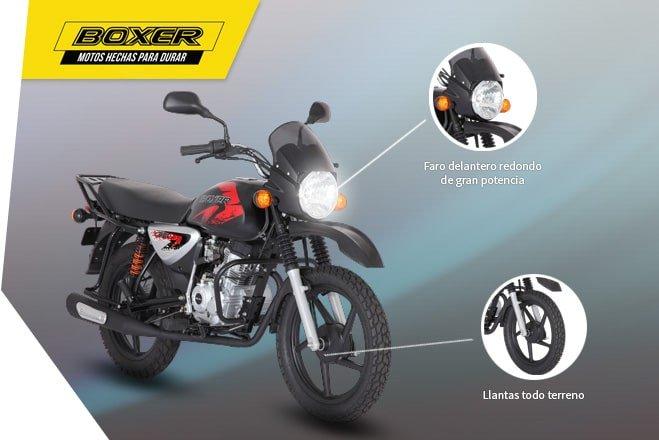 Мотоцикл BAJAJ Boxer BM 150 X
