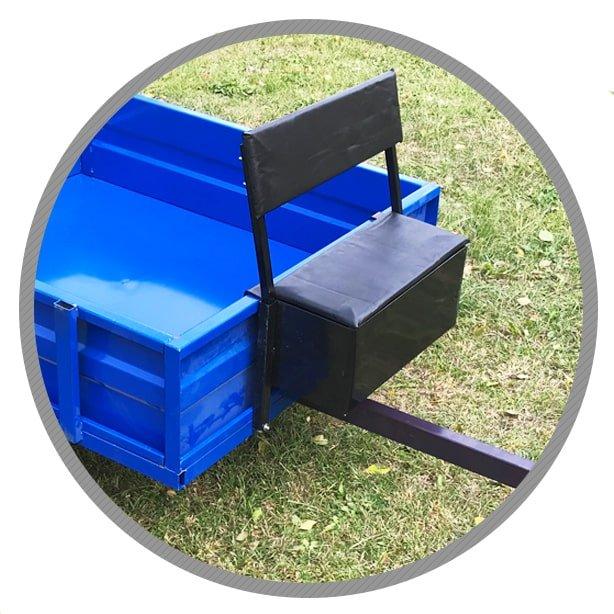 комфортные сиденья прицепа forza-6