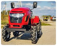 Трактор россел 152
