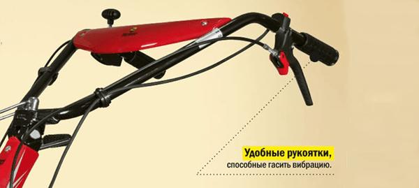 Мотоблок бензиновый ASILAK SL-186 удобные рукоятки