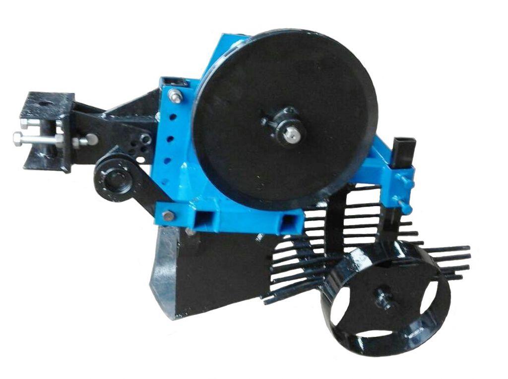 картофелекопалка к мини-трактору ПА-КП-01 от ремня