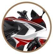 руль переменного сечения мотоцикл racer storm