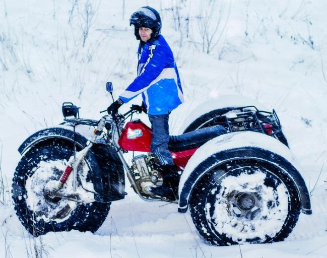 Снегоболотоход ЗиД Бархан