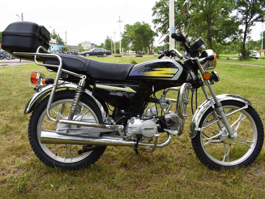 Мотоцикл Regulmoto Alpha 110