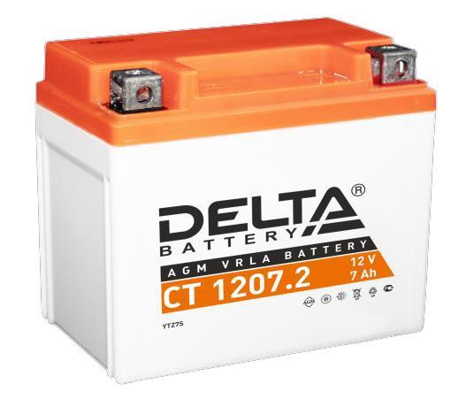 Аккумуляторная батарея СТ 1207.2 Delta 12V 7Ah