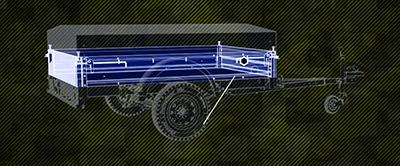 тент для автомобильного прицепа