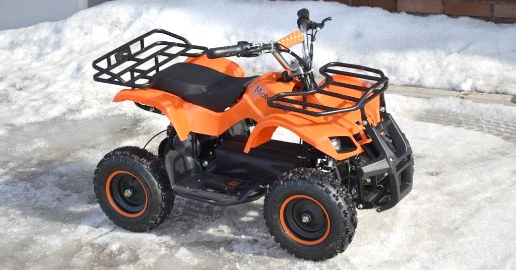 Детский квадроцикл Motoland ATV ZR8 камуфляж