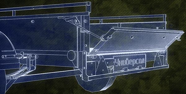 автомобильный прицеп трансформер