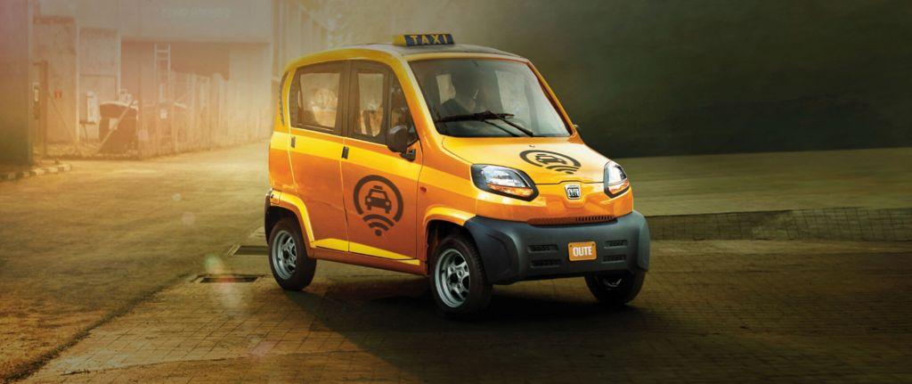 BAJAJ Qute авто для такси