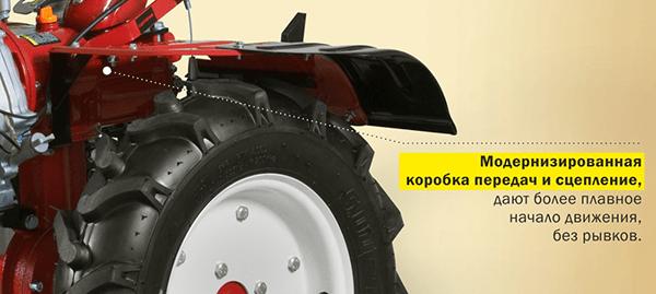 Мотоблок бензиновый ASILAK SL-186 коробка передач