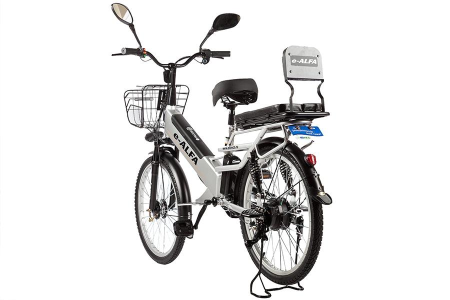 Электровелосипед Eltreco e-ALFA L 2