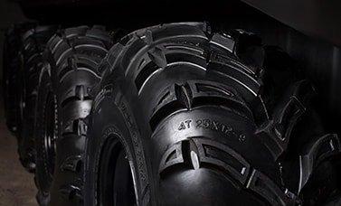 Колеса с шинами низкого давления tinger armor