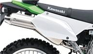 Кавасаки KLX250 2019 выхлопная система