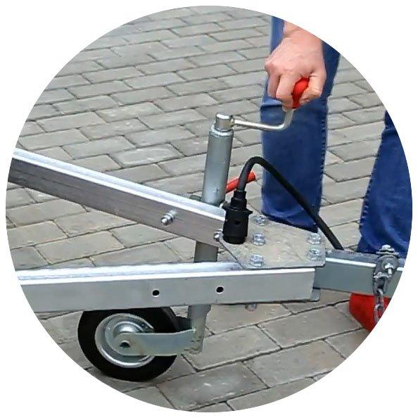 опорное колесо уральца 8213