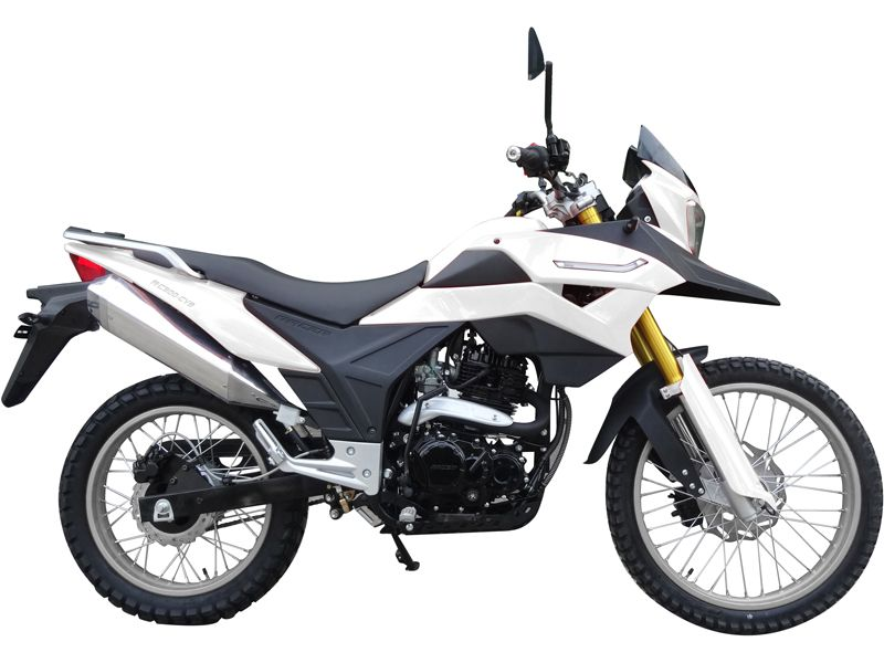 белый мотоцикл Racer Ranger RC250-GY8A